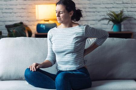 last van rugpijn door boosheid